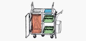 Configuration Chariot de nettoyage